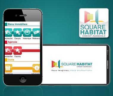 cr dit agricole centre est square habitat mobile. Black Bedroom Furniture Sets. Home Design Ideas